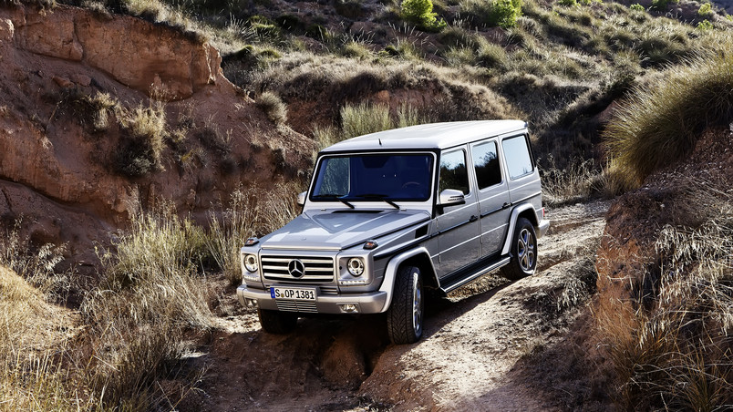 2013 Mercedes Benz G Class Off Road wallpaper