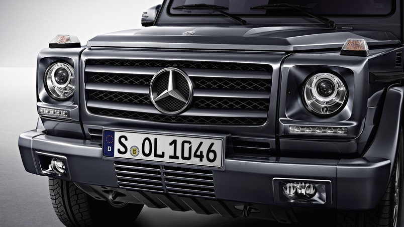 Beautiful Front of G Class wallpaper