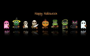 Happy Halloween Characters wallpaper
