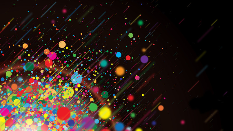Colorful Dots Hd Wallpaper Wallpaperfx