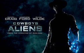 Cowboys and Aliens Poster wallpaper