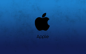 Apple Blue wallpaper