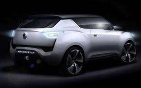 SsangYong e-XIV Rear Concept