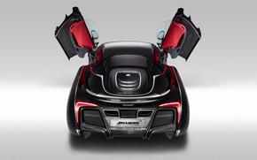 McLaren X1 Concept Rear Open Doors
