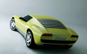 Lamborghini Miura Concept Rear