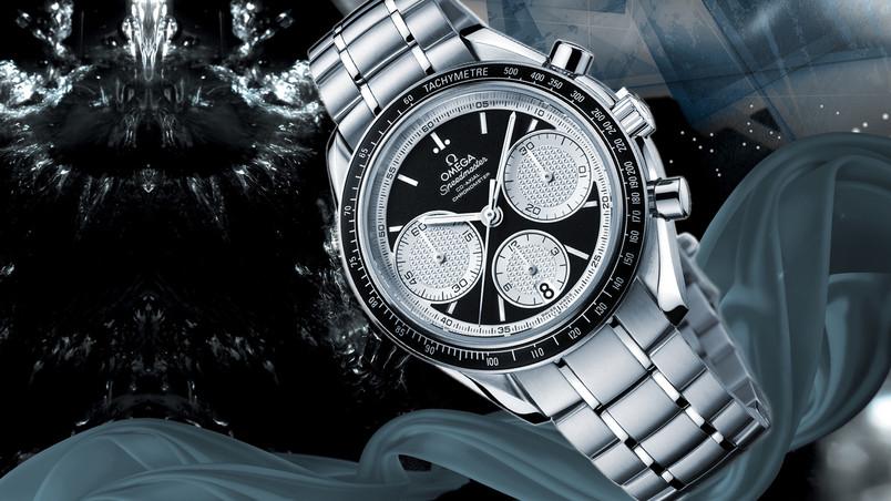 Omega Speedmaster Coaxial Chronometer Hd Wallpaper Wallpaperfx