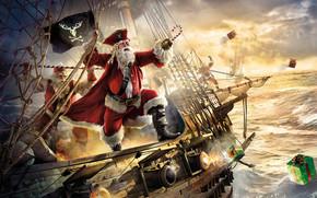 Santa Pirate