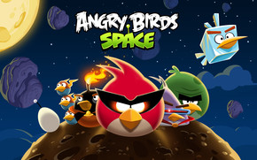 Angry Birds Space All wallpaper