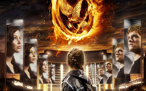 The Hunger Games Poster wallpaper