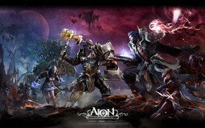 Aion The Tower of Eternity Characters
