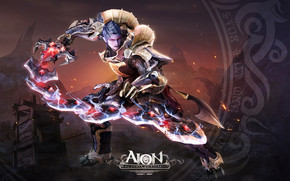 Aion Character wallpaper