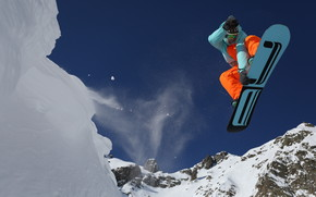Extreme Snowboarding Adventure wallpaper