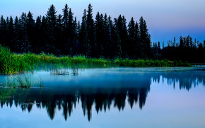 Beautiful Lake Reflection Landscape wallpaper
