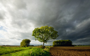 Countryside Land Landscape wallpaper