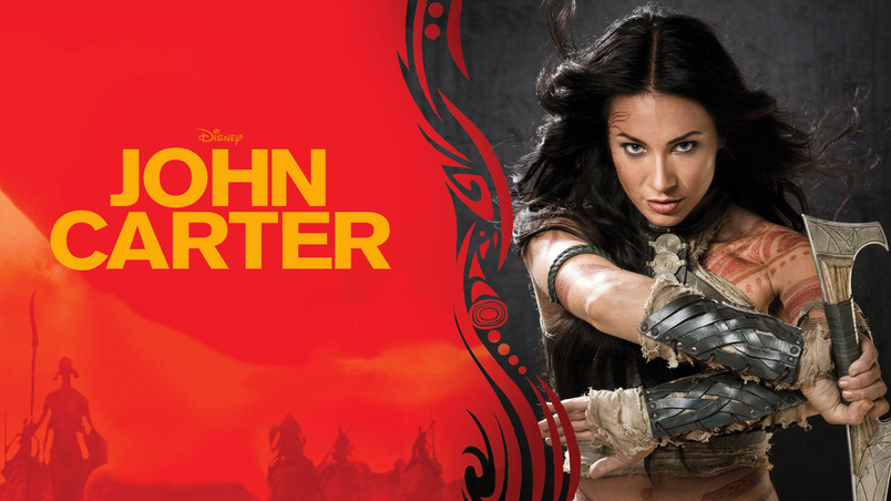 John Carter Dejah Thoris wallpaper