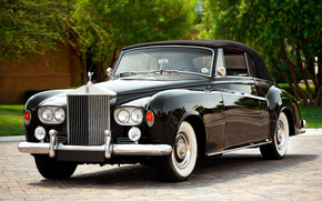 Rolls Royce Silver Coupe 1962 wallpaper
