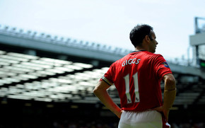 Ryan Giggs Back wallpaper