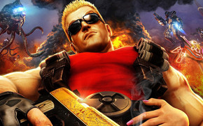 Duke Nukem Forever Character wallpaper