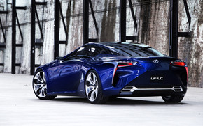 Rear Of Lexus LF-LC Concept