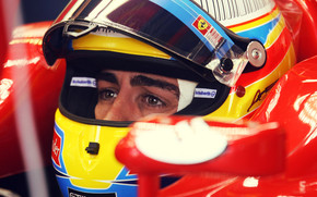 Fernando Alonso Before Race wallpaper