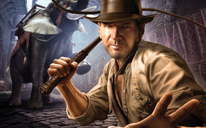 Indiana Jones Animated wallpaper