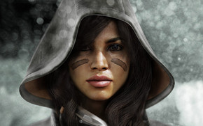 Killzone 3 Girl wallpaper