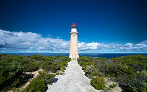 Lighthouse Kangaroo Island wallpaper