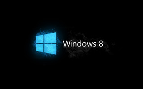 Windows 8 Blue and Black wallpaper