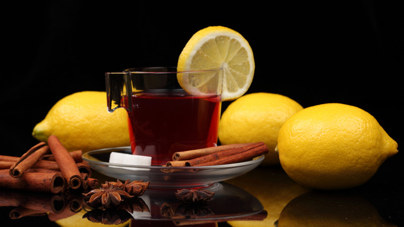 Cinnamon And Lemon Tea wallpaper