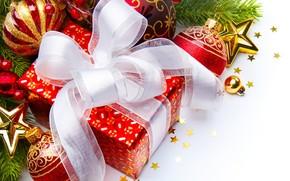 Christmas Gift and Globes