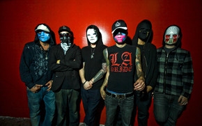 Hollywood Undead Band wallpaper