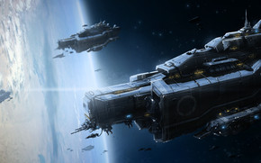 Space Ships wallpaper