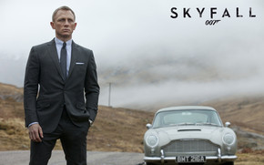 James Bond 007 Skyfall wallpaper