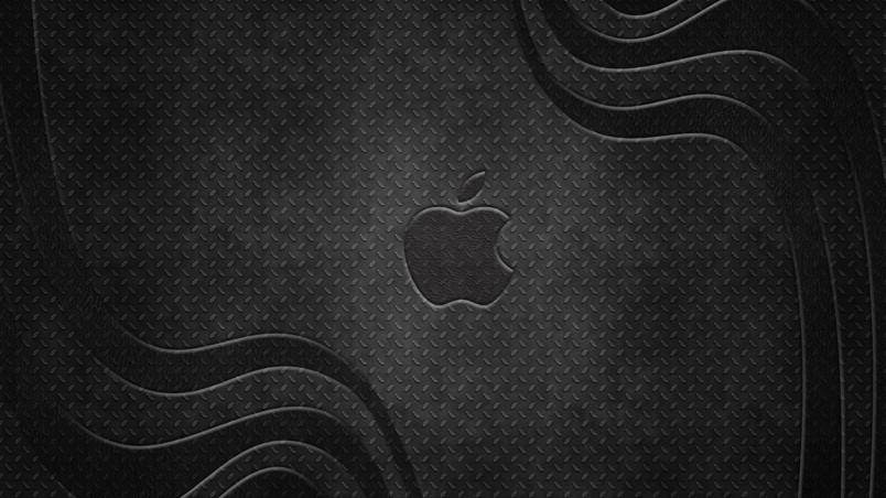 Apple Metal Logo Wallpaper