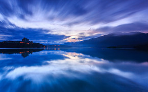 Blue Lake Landscape wallpaper
