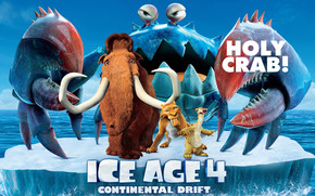 Ice Age 4 Holy Crab wallpaper