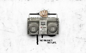 No Music No Life wallpaper