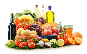 Good and Healthy Foods wallpaper