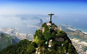 Brazil Jesus Christ Statue wallpaper