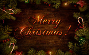 Merry Christmas Wish Decoration wallpaper