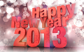 Happy New 2013 wallpaper
