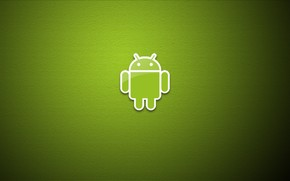 Green Eco Android Logo wallpaper