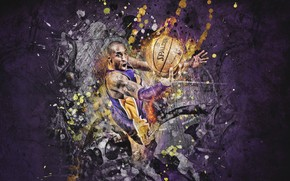Kobe Bryant Art wallpaper