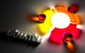 Ubuntu Cool Logo wallpaper