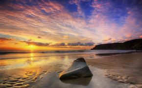 Calm Summer Sunset