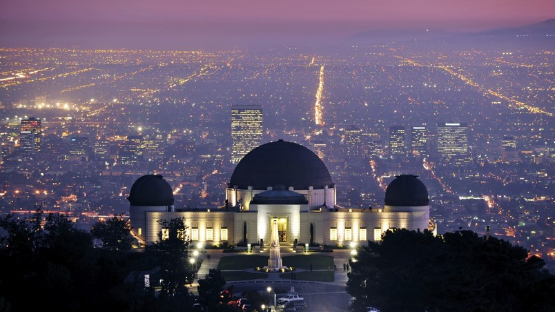 Griffith Observatory Los Angeles wallpaper
