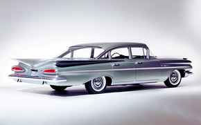 Chevrolet Bel Air Sedan 1959 wallpaper