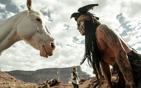 2013 The Lone Ranger Scene wallpaper