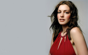 Gorgeous Anne Hathaway wallpaper