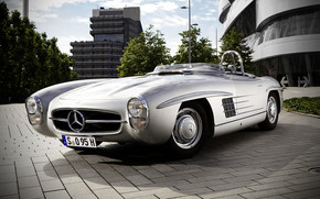 Amazing Mercedes 300 SLS from 1957 wallpaper